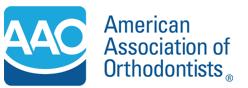 Ο Ευάγγελος Πανδής είναι μέλος του American Association of Orthodontists (AAO)